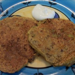 Pumpkin and Lentil Fritters recipe