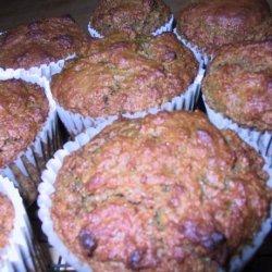 Food Processor Orange Date Muffins recipe