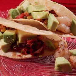 Shrimp Tacos With Warm Corn Salsa recipe