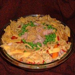 Colorful Layered Salad recipe