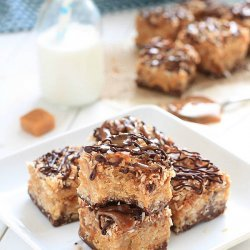 Peanut Butter Cereal Bars recipe