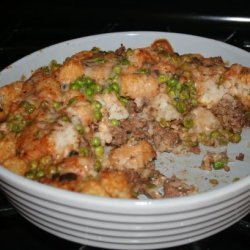 Tater Tots and Ground Beef Casserole recipe