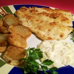 Fish and Chips (No Beer) recipe