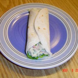 Chicken Avocado Bacon Wrap recipe