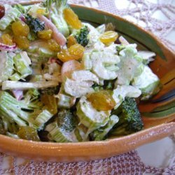Broccoli and Celery Slaw recipe