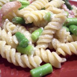 Pasta With Lemon, Asparagus and Cheese recipe