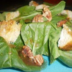 Salade Au Chevre (Goat Cheese Salad) recipe