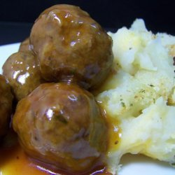 Evelyn's Sweet and Sour Meatballs recipe