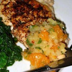 Grilled Chicken Breasts With Mandarin Orange Salsa recipe