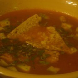The Mansion's Chicken Tortilla Soup recipe