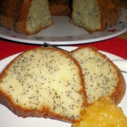 Moist Poppy Seed Bundt Cake recipe