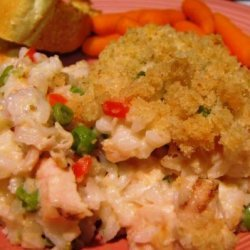 Chicken Alfredo and Rice Casserole recipe