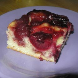 Sweet Cherry Upside-Down Cake recipe
