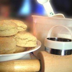 Seasoned Whole Wheat Buttermilk Biscuits recipe