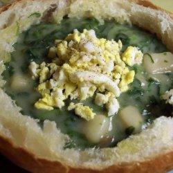 Spinach Chowder recipe