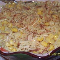 Corn and Rice recipe