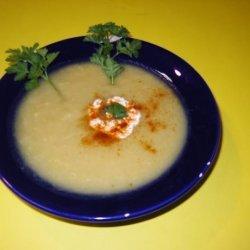 Gingered Parsnip & Leek Soup recipe