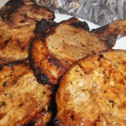 Grilled Margarita Pork Chops recipe
