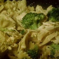 Pasta Bows and Chicken recipe