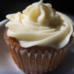 Banana Walnut Cupcakes With Cream Cheese Frosting recipe