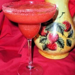 Frozen Strawberry Margaritas recipe