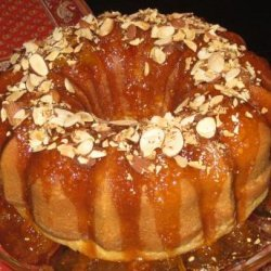 Absolutely Heavenly Amaretto Cake recipe