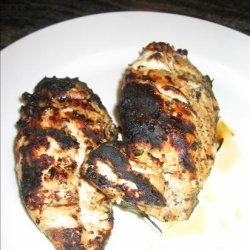 Grilled Chicken Breasts With Chimichurri Sauce recipe