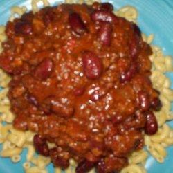 Wendy Richard's Chili Recipe - the Best Chili Ever!!!!!!!!!!!!!! recipe
