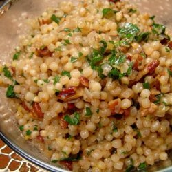 Israeli Couscous With Pecans recipe