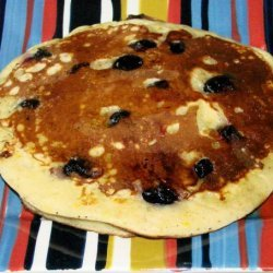 Blueberry Orange Pancakes recipe