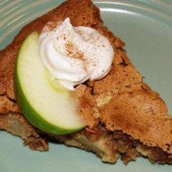 Norwegian Apple Pan Pie recipe