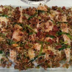 Stuffed Speckled Trout Fillets recipe