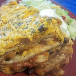 Crock Pot Enchilada Stack recipe