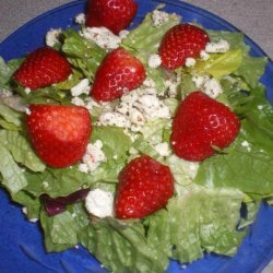 Feta and Strawberry Salad recipe