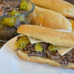 Italian Beef Sandwiches recipe