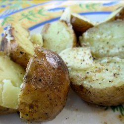 Twice Baked Outdoor BBQ Baby Potatoes recipe