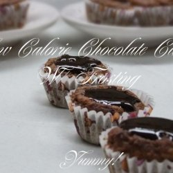 Low Calorie Chocolate Cake W/ Frosting recipe