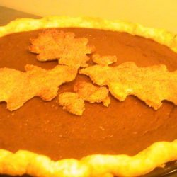 Dad's Favorite Pumpkin Pie recipe