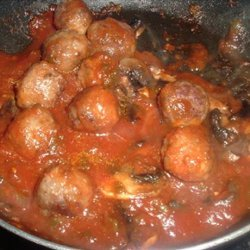 Meow's Healthy Tomato-Mushroom sauce (WW) recipe