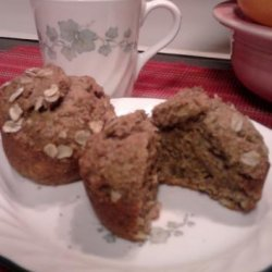 Whole Wheat Banana Muffins (Healthy!) recipe