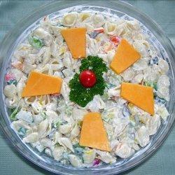 Sea Shell Pasta Salad or Wheelie Pasta Salad recipe