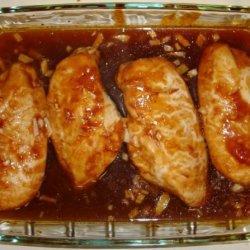 Sticky Peachy Chicken recipe