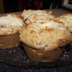 Pear, Date and Cream Cheese Muffins recipe