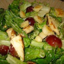 Grape Caesar Salad recipe