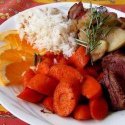 Cardamom Carrots #5 recipe