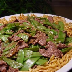 C-Watch Fried Mein With Oyster Sauce Beef recipe