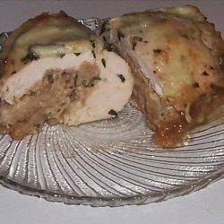 Pesto Stuffed Chicken Breasts recipe