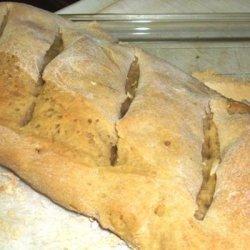 Bread Machine Cuban Bread recipe