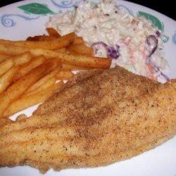 Cornmeal Crusted Oven Fried Catfish (Ww Core) recipe