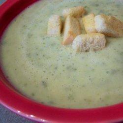 Soupe a La Courgette ( Zucchini Soup ) recipe